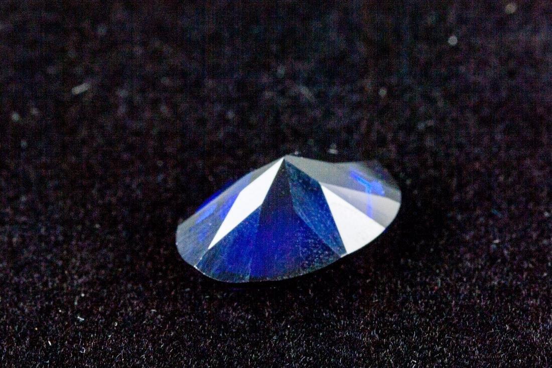 OVAL CUT 14.47 CT ROYAL BLUE SAPPHIRE 13x18mm - 4