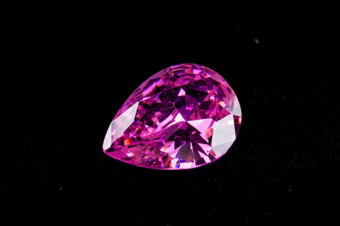 AMAZING 23 CT UNHEATED TOP PINK SAPPHIRE 15X20MM