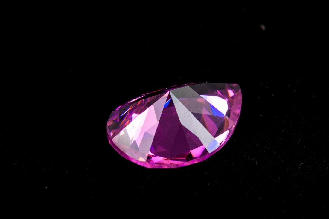 AMAZING 23 CT UNHEATED TOP PINK SAPPHIRE 15X20MM - 2