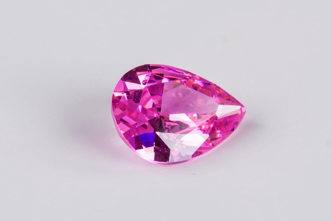 AMAZING 23 CT UNHEATED TOP PINK SAPPHIRE 15X20MM - 3