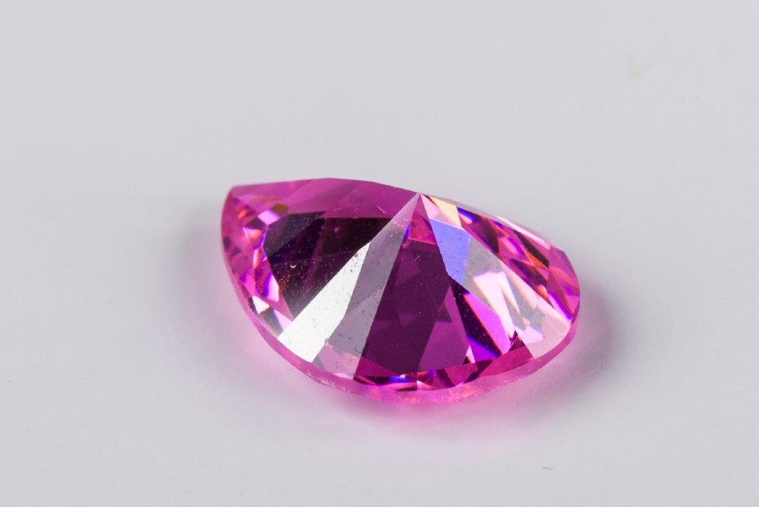 AMAZING 23 CT UNHEATED TOP PINK SAPPHIRE 15X20MM - 4