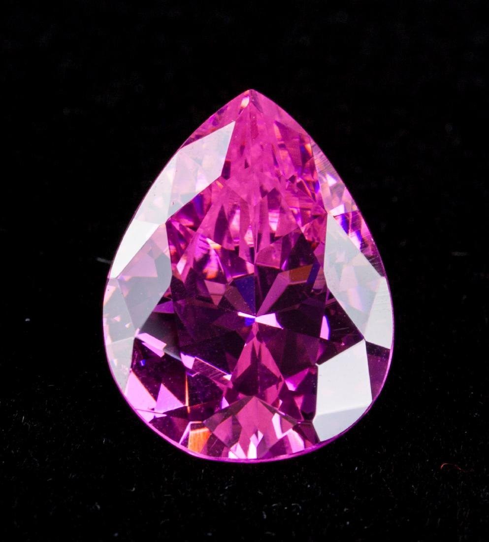 AMAZING 26.7 CT UNHEATED TOP PINK SAPPHIRE 15X20MM
