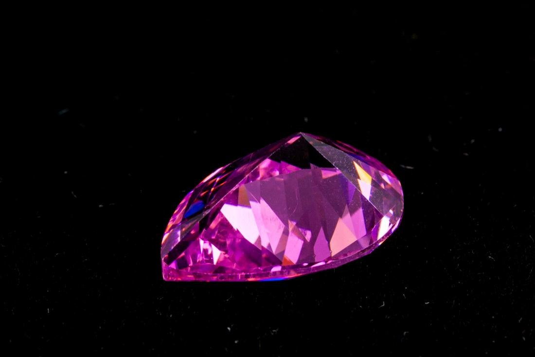 AMAZING 28.9 CT UNHEATED TOP PINK SAPPHIRE 15X20MM - 2