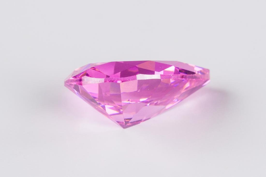 AMAZING 28.9 CT UNHEATED TOP PINK SAPPHIRE 15X20MM - 4