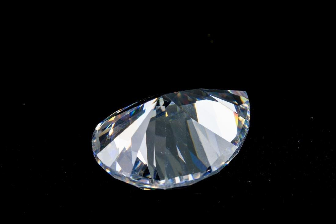 Pear Cut 34 CT VVS Top White Sapphire 16 x 22 - 2