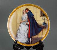 1986 Limited Norman Rockwell Porcelain Plate