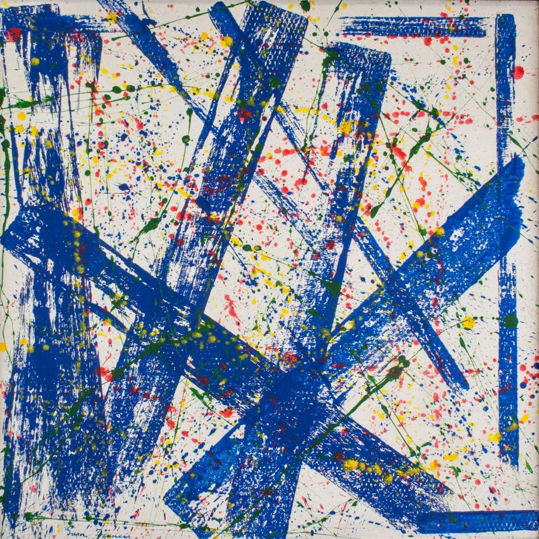 Sam Francis 1923-1994 Abstract Composition