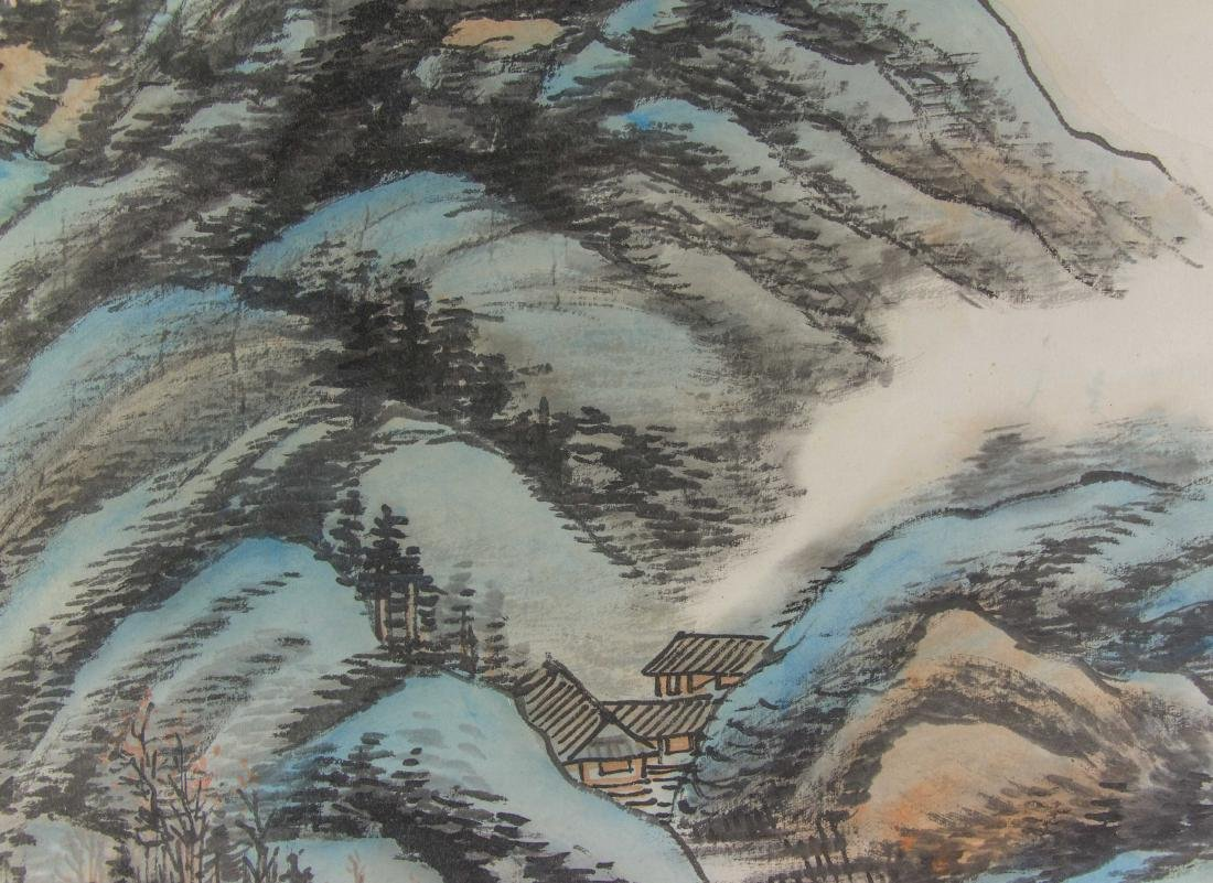 Guan Shanyue 1912-2000 Chinese Watercolour Paper - 3