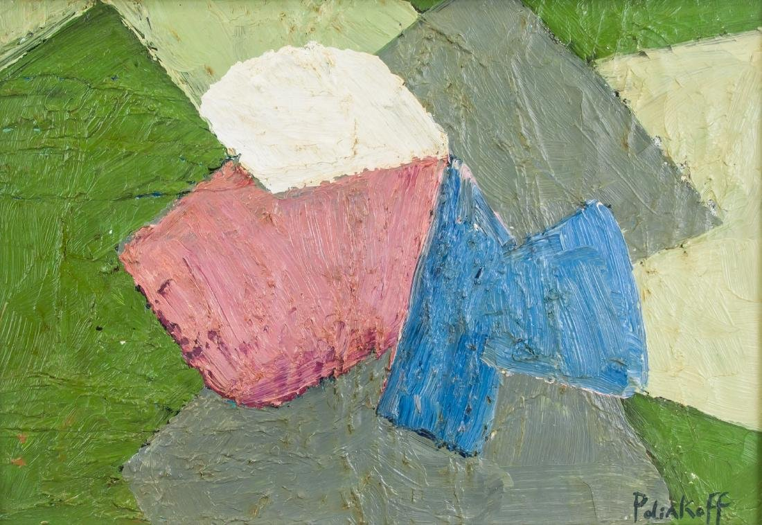 Serge Poliakoff 1906-1969 Russian French Oil Moder