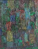 Hans Hofmann 18801966 American Oil Canvas Exprsnt