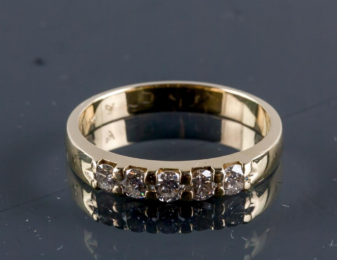 14k Yellow Gold 0.50ct Diamond Claw Set CRV$3350