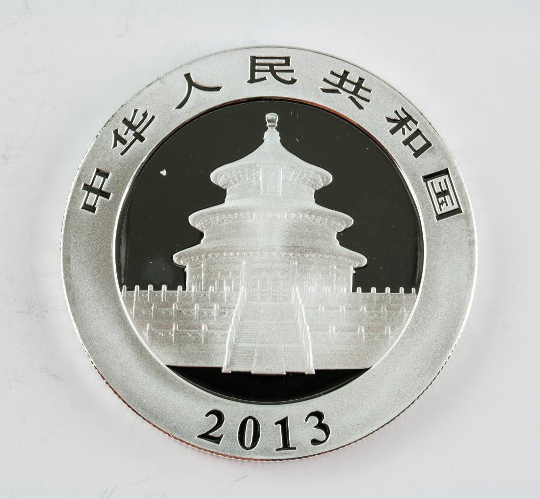 2013 China 10 Yuan Fine Silver (.999) Panda Coin - 2