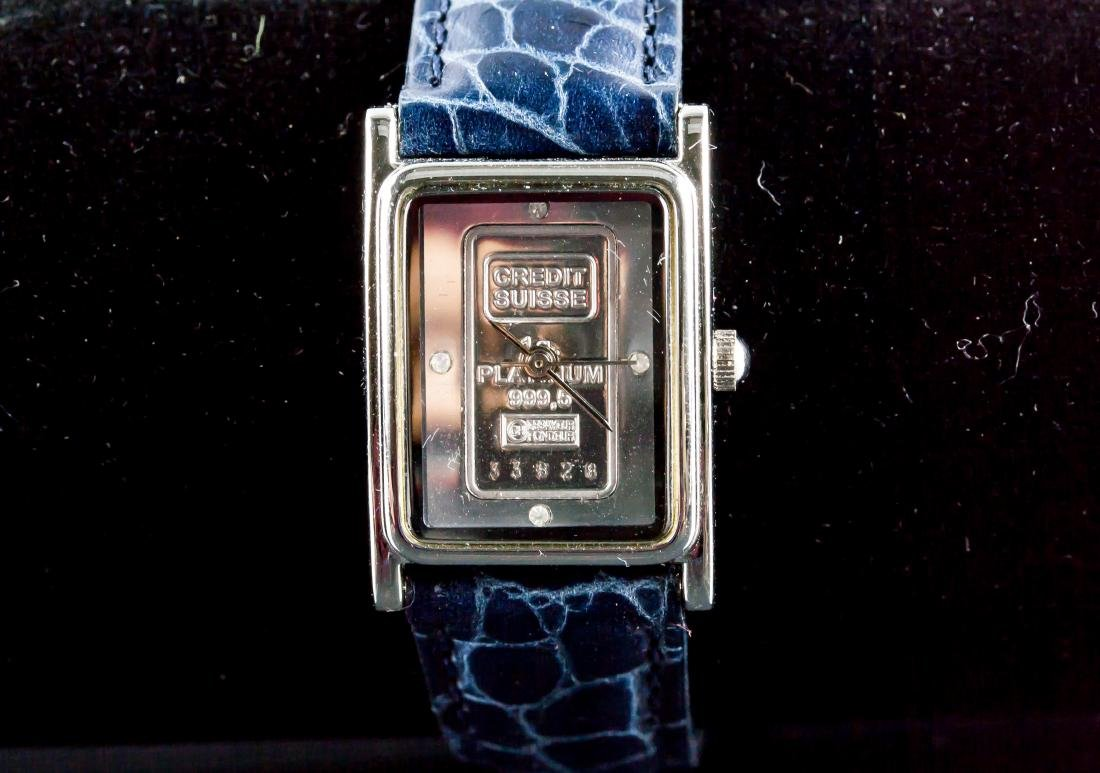 Swiss Ingot 1g 999.5 Platinum Watch