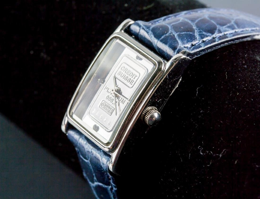 Swiss Ingot 1g 999.5 Platinum Watch - 2