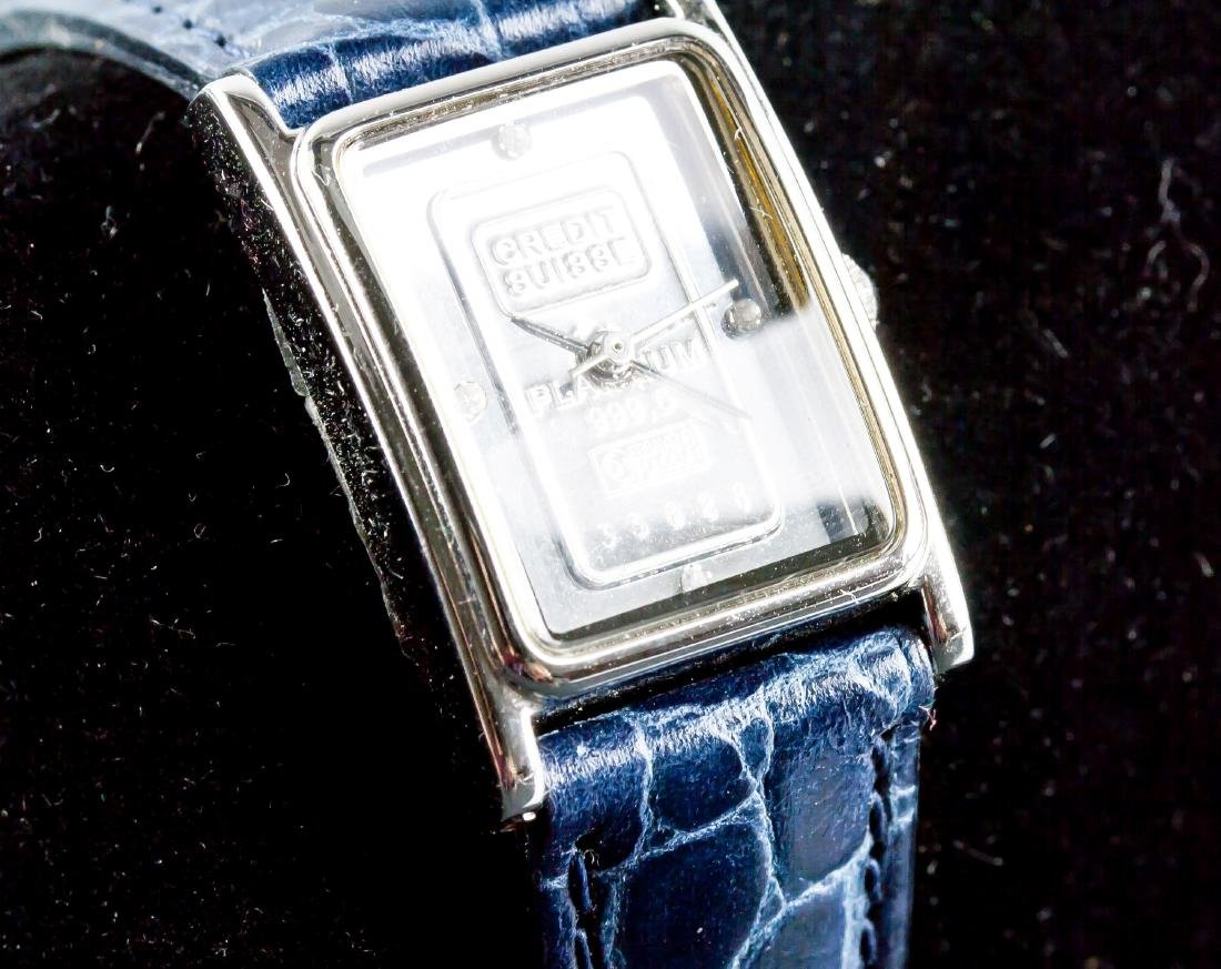 Swiss Ingot 1g 999.5 Platinum Watch - 3