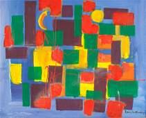 Hans Hofmann (American/German 1880-1966) OOC