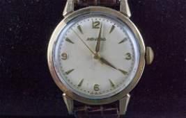 Vintage 1950s Movado 14k Gold Cap Mens Watch