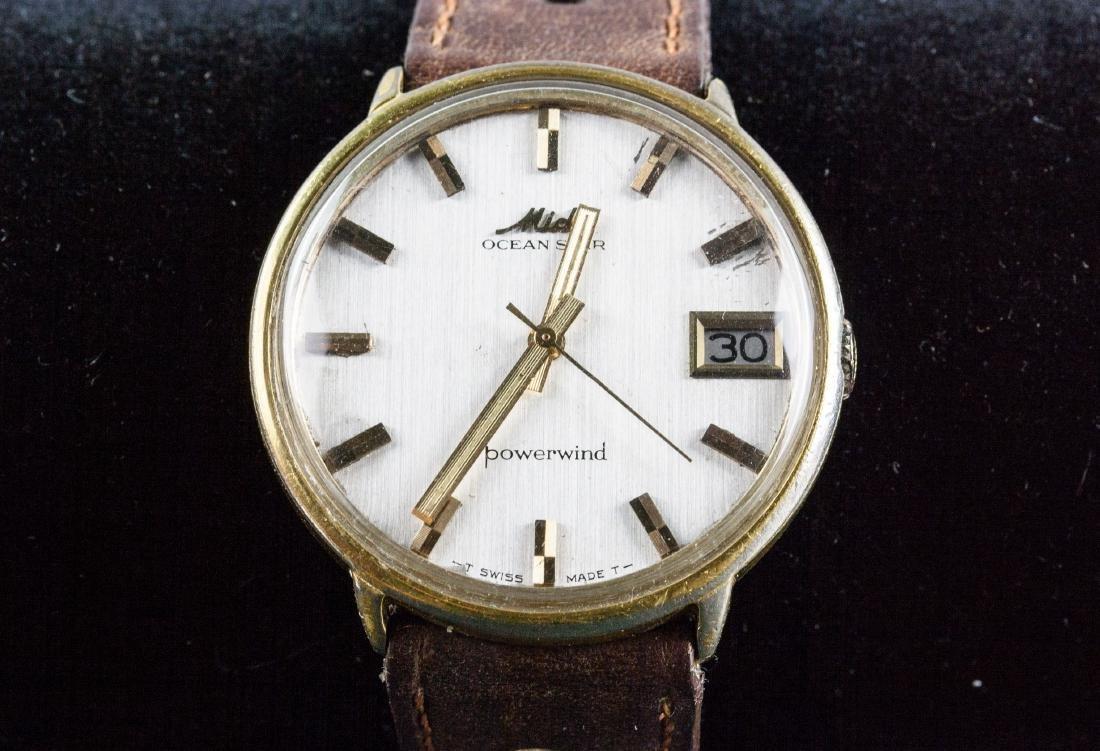 Vintage Mido Ocean Star Gold Plated Men's Watch