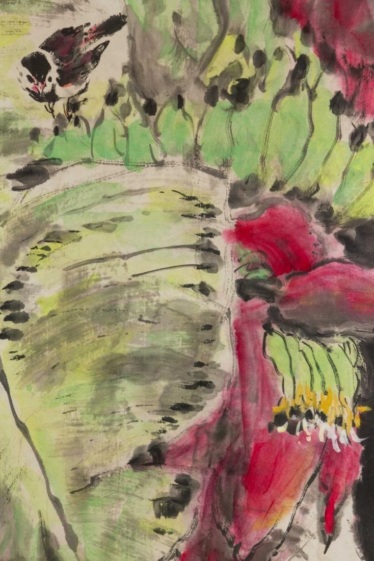 Chen Yongjian Chinese Watercolour on Paper Roll - 3