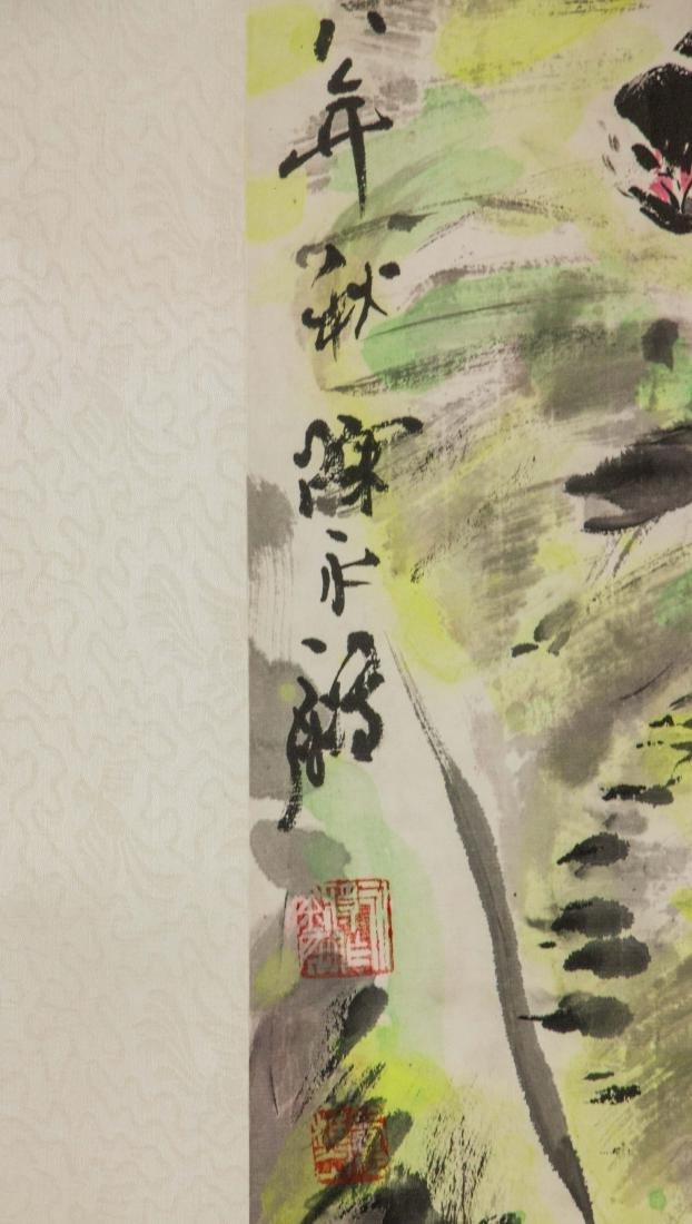 Chen Yongjian Chinese Watercolour on Paper Roll - 4