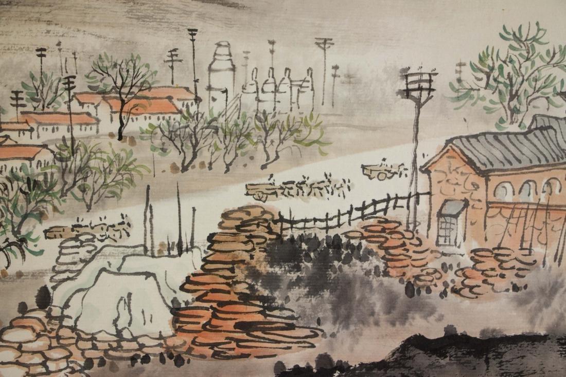 Qian Songyan 1899-1985 Chinese Watercolour Paper - 3