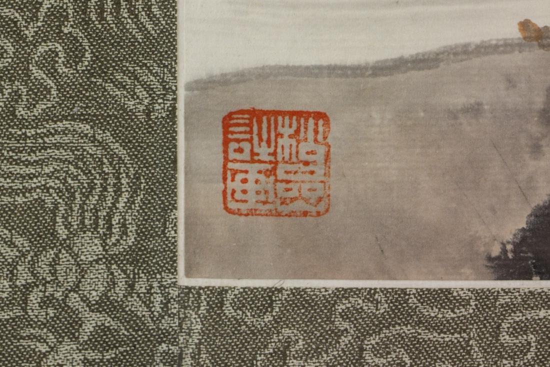 Qian Songyan 1899-1985 Chinese Watercolour Paper - 4