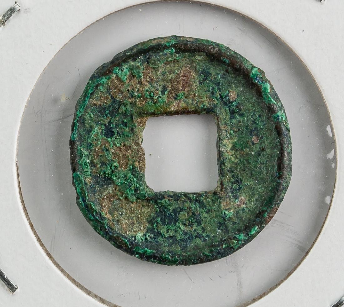 14- 40 China Han Dynasty Wangmang Huoquan Bronze - 2