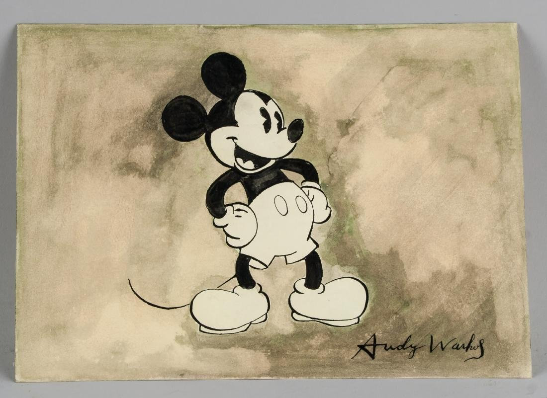 Andy Warhol (American, 1928-1987) Mickey Mouse - 2