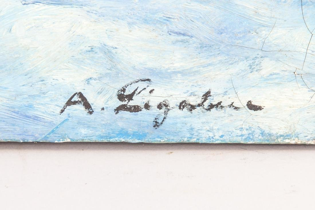 Antonio Ligabue (Italian 1899-1965) Oil on Canvas - 4