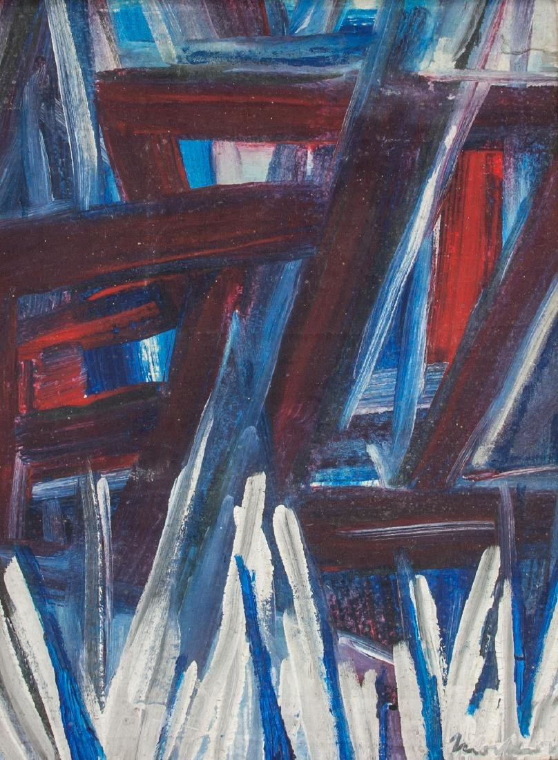 Jack Tworkov (American 1900-1982) Oil on Canvas