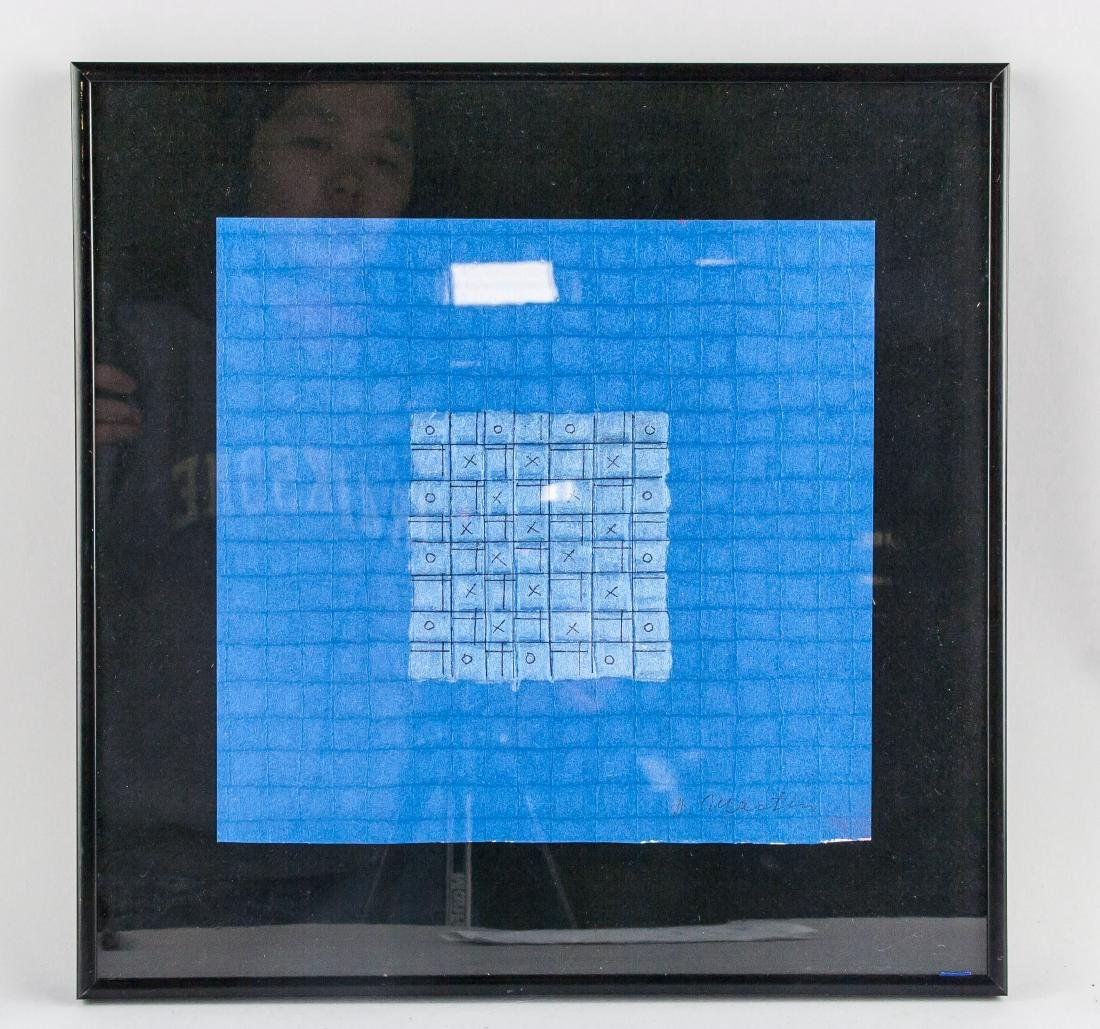 Agnes Martin 1912-2004 Mixed Media Framed - 2