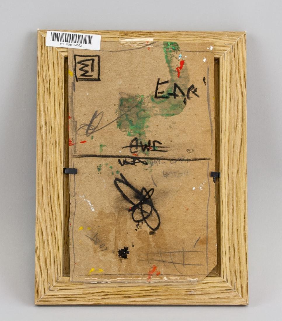 Jean-Michel Basquiat 1960-1988 Mixed Media Board - 5