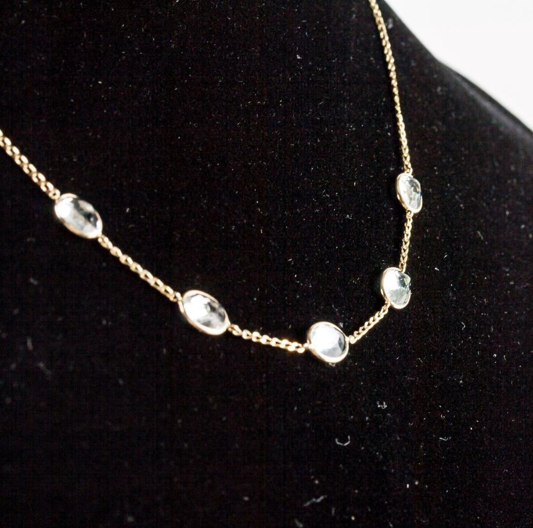 7.1ct Aquamarine Necklace CRV$2350 - 2