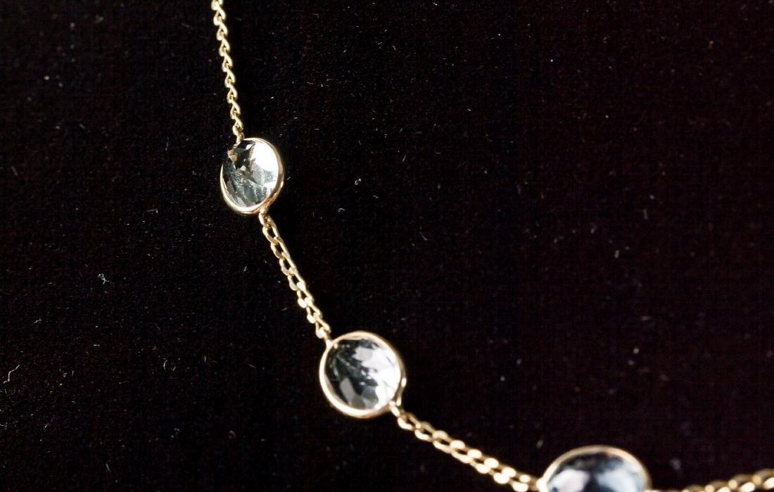 7.1ct Aquamarine Necklace CRV$2350 - 3