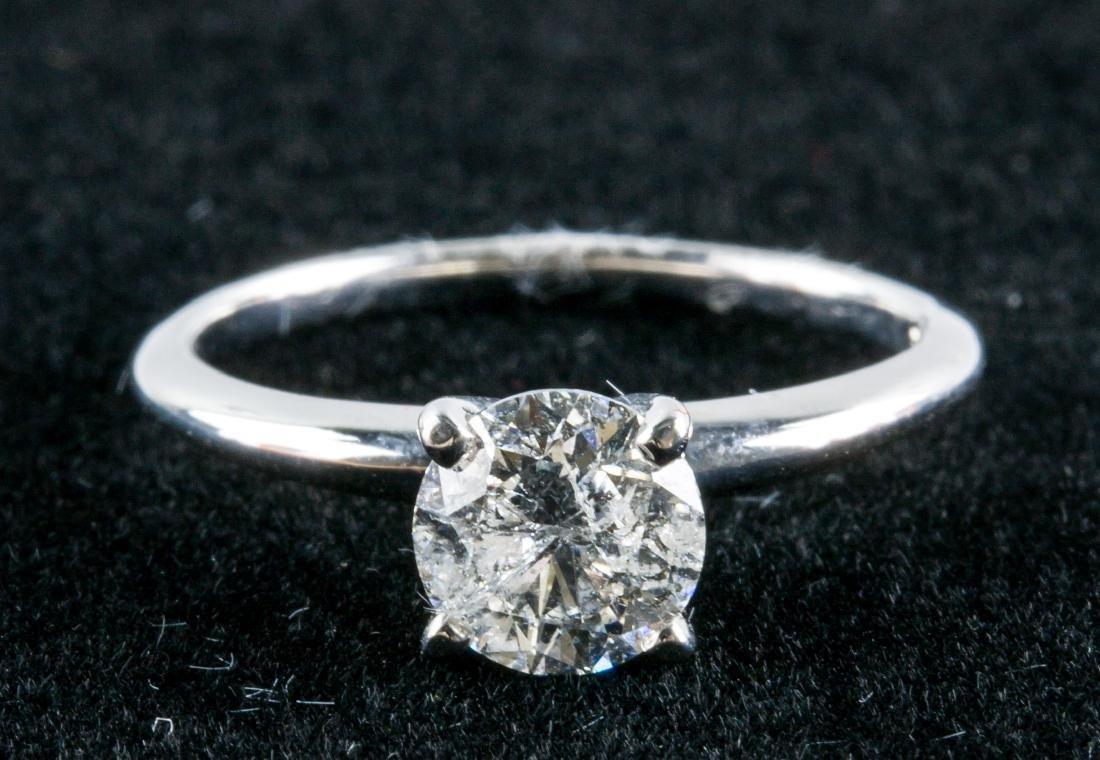 14k Gold 1.04ct Diamond Ring CRV $13150