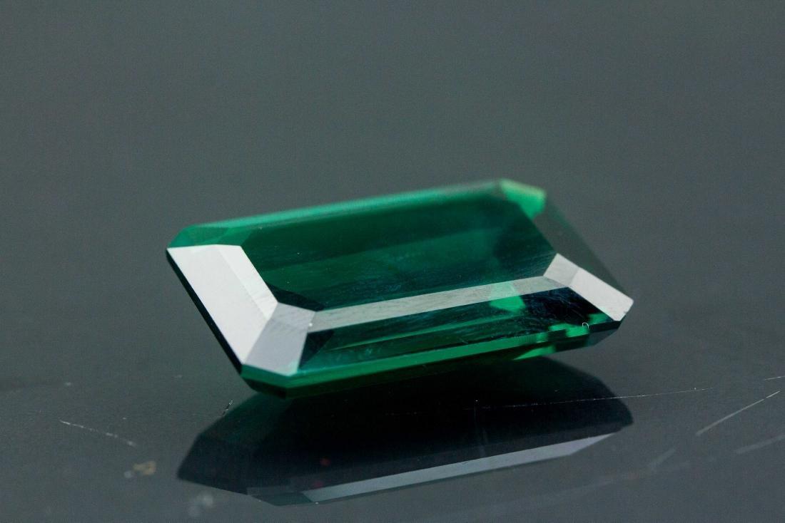 27.55 ct AAA Lab Emerald Octagon 22 x 16 mm