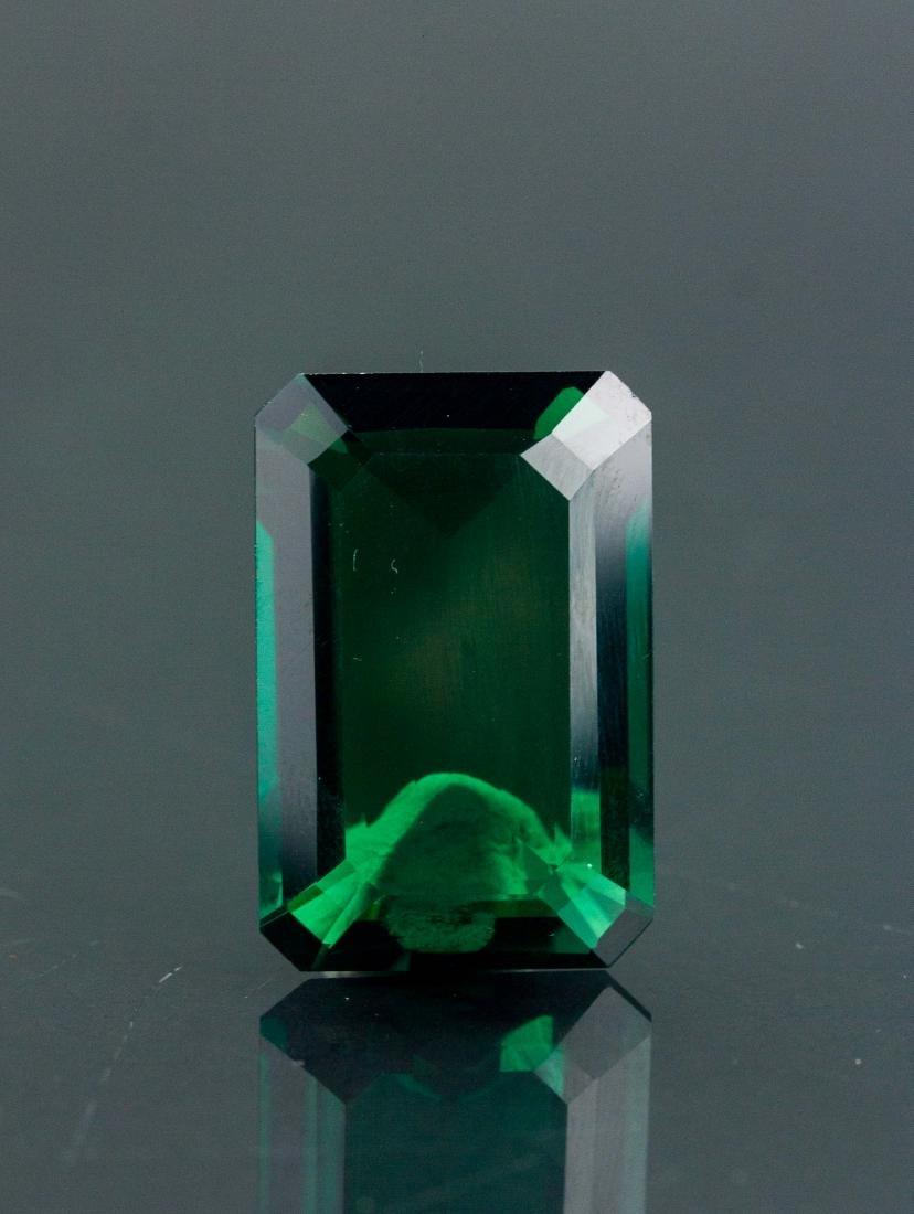 27.55 ct AAA Lab Emerald Octagon 22 x 16 mm - 2