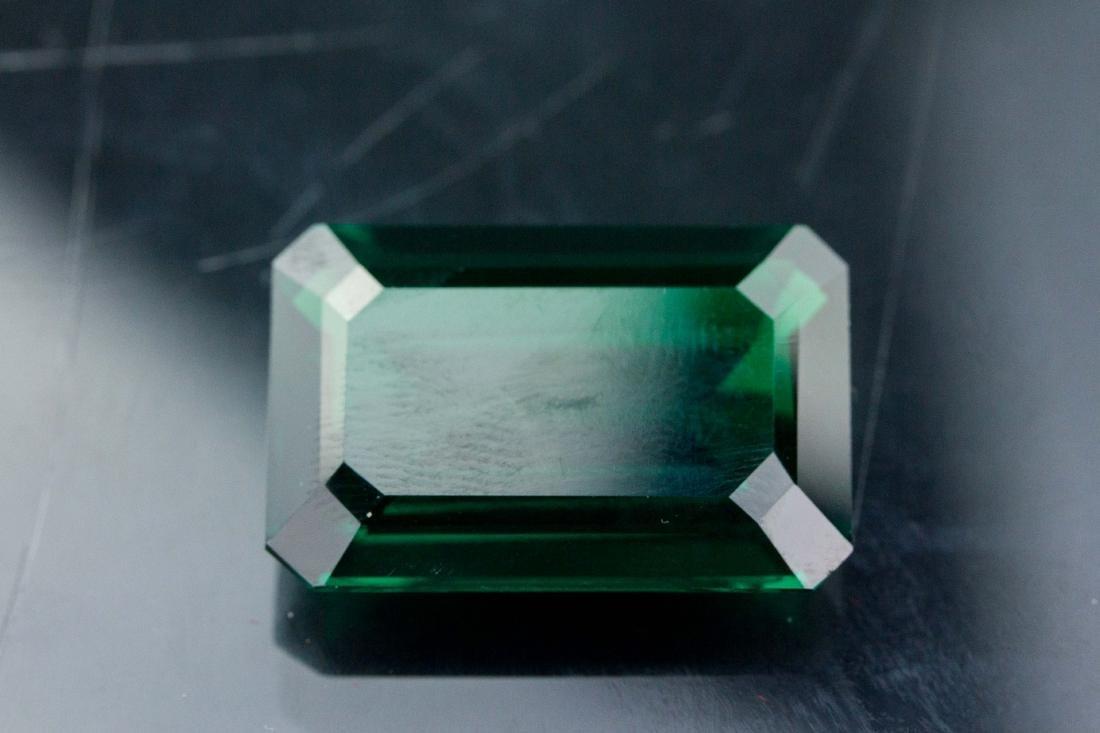 27.55 ct AAA Lab Emerald Octagon 22 x 16 mm - 4