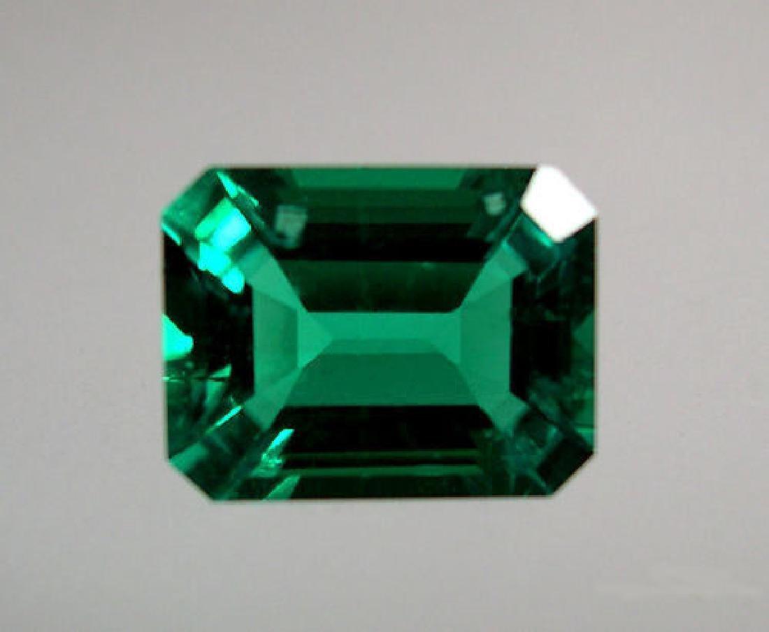 27.55 ct AAA Lab Emerald Octagon 22 x 16 mm - 5