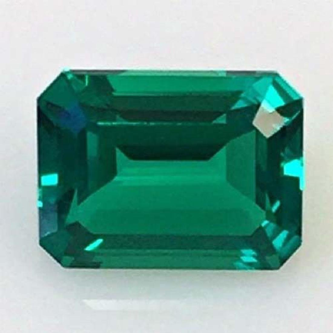 27.55 ct AAA Lab Emerald Octagon 22 x 16 mm - 7