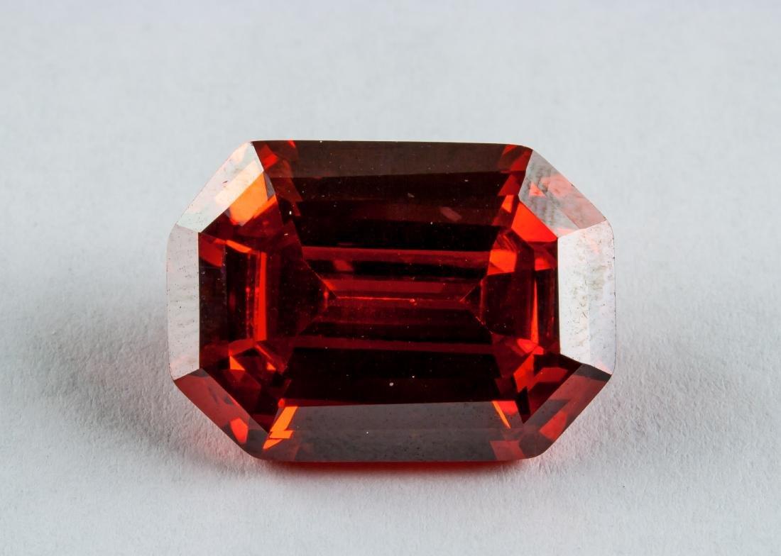Emerald Cut 26.925 ct Ruby 12.99 mm x 18.41 mm