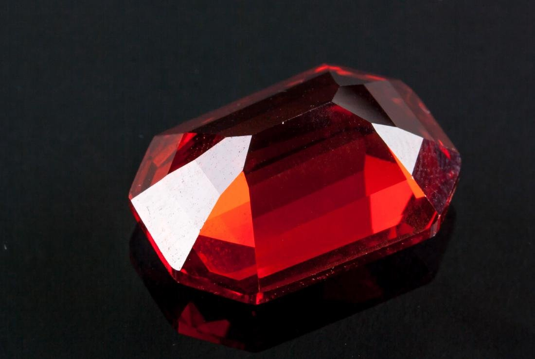 Emerald Cut 26.925 ct Ruby 12.99 mm x 18.41 mm - 4
