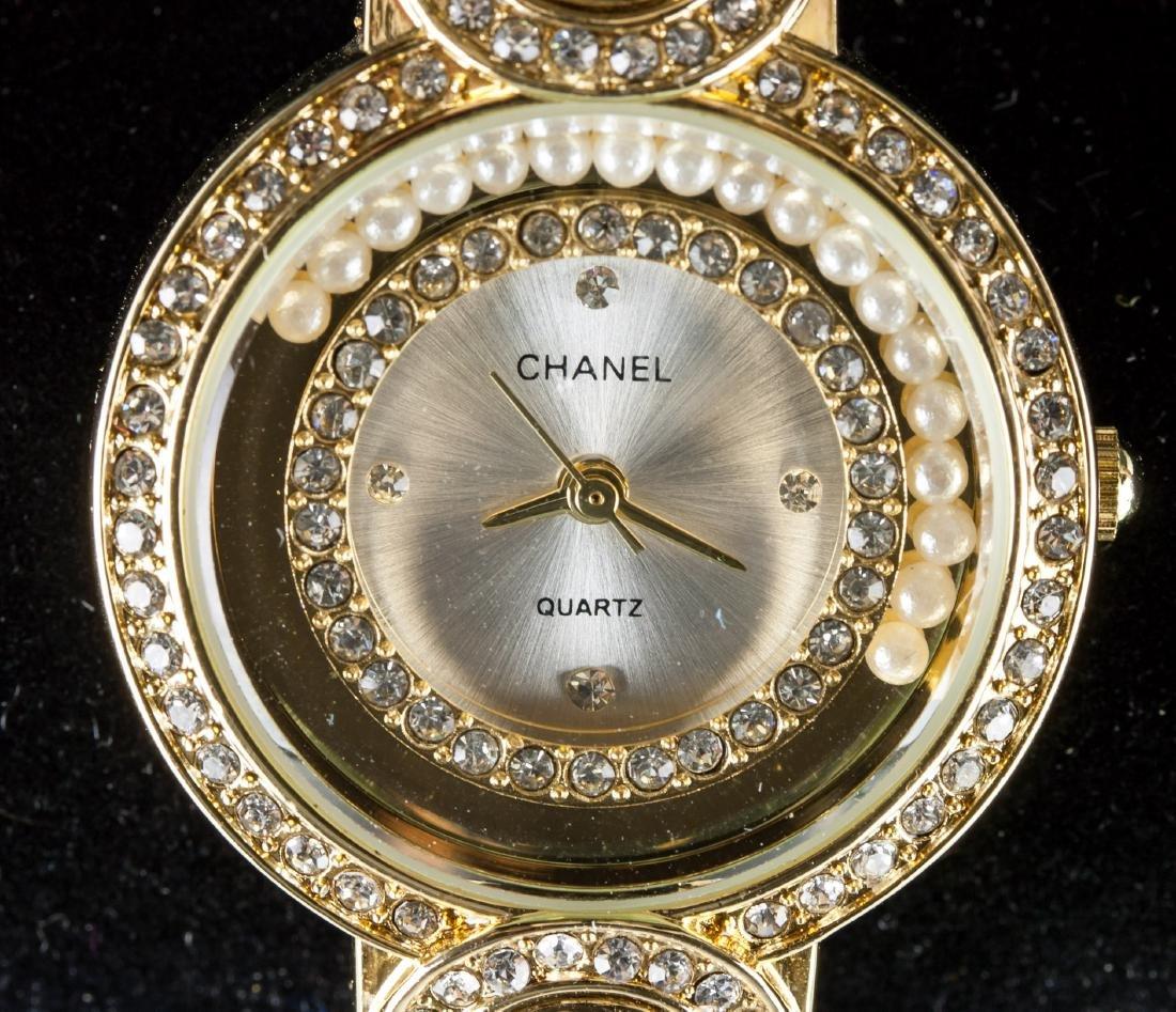 Chanel Fresh Water Pearl Bracelet Watch RV $400