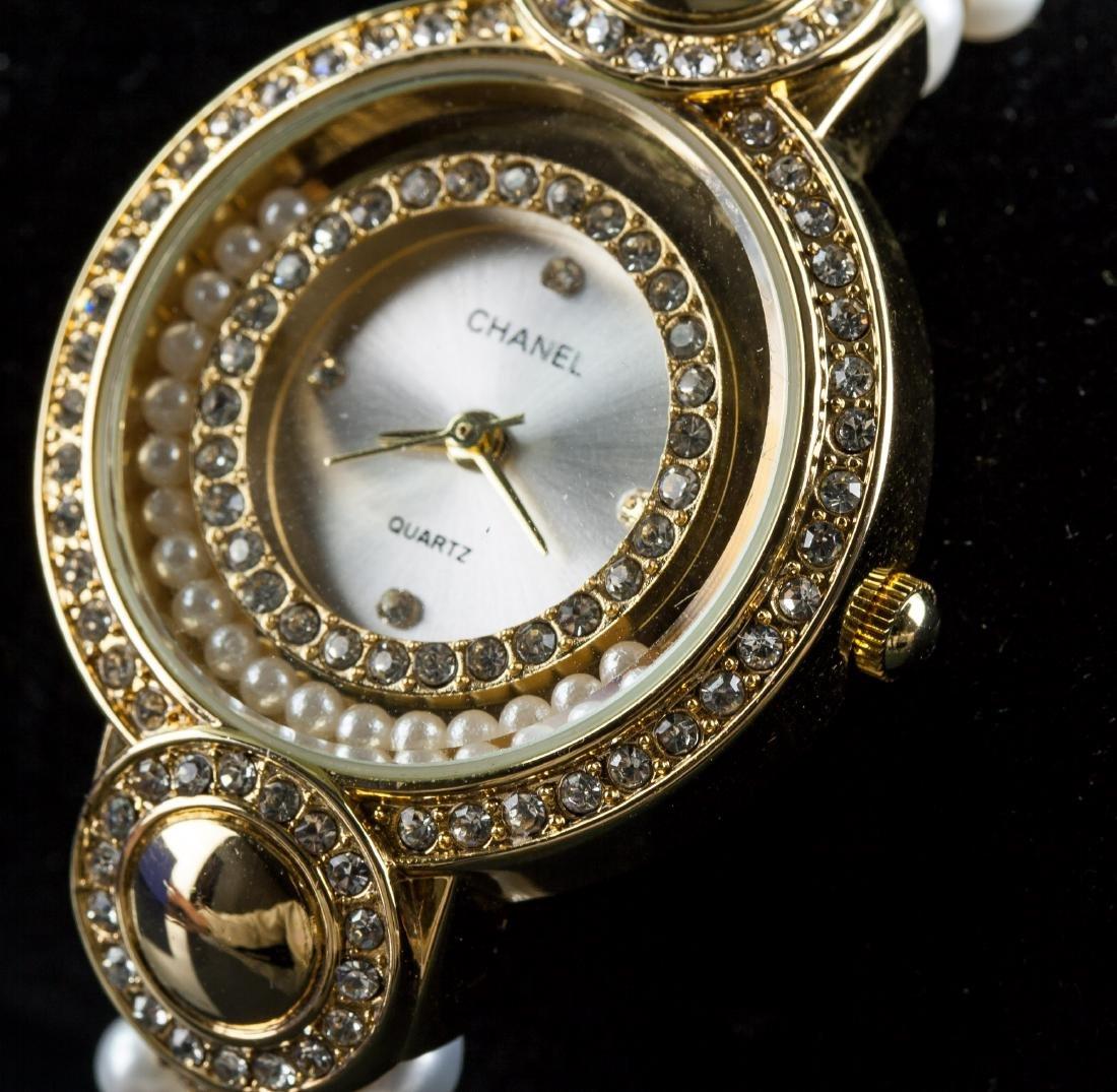 Chanel Fresh Water Pearl Bracelet Watch RV $400 - 3