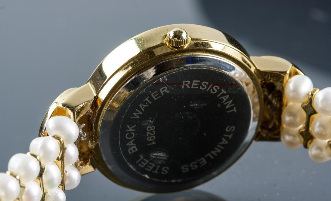 Chanel Fresh Water Pearl Bracelet Watch RV $400 - 4