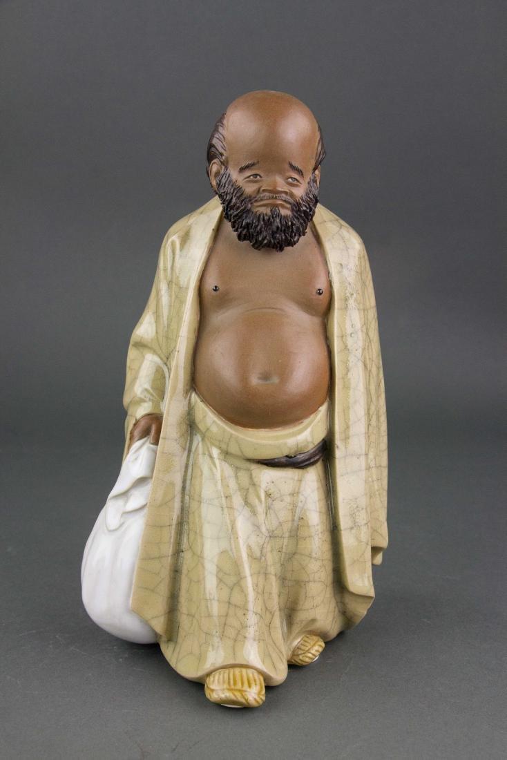 Liu Chuan 1916-2000 Chinese Pottery Figure