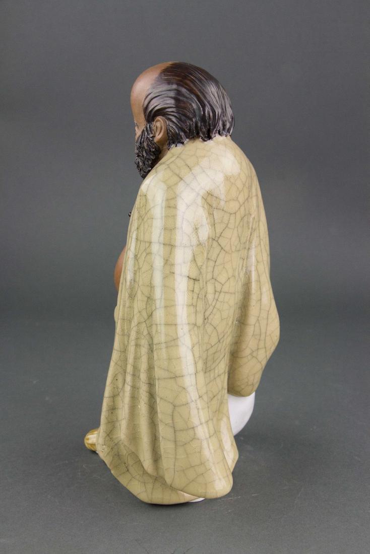 Liu Chuan 1916-2000 Chinese Pottery Figure - 3