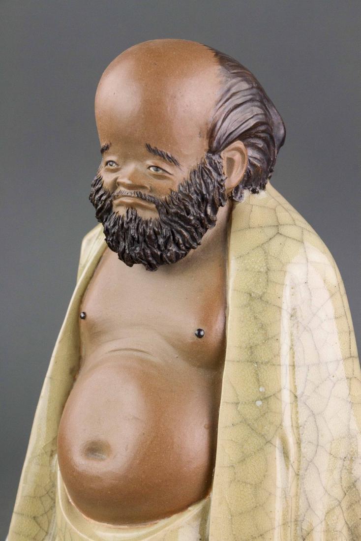 Liu Chuan 1916-2000 Chinese Pottery Figure - 4