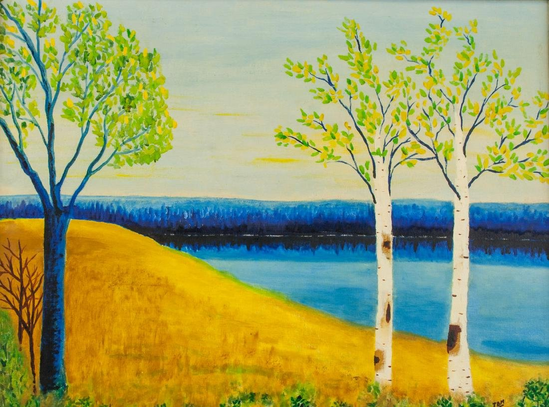 Marie Claude Boucher b. 1973 Acrylic on Canvas