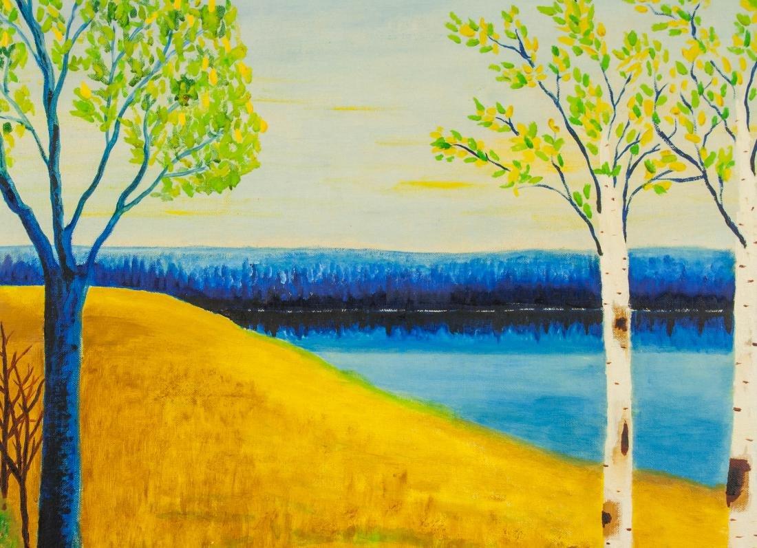 Marie Claude Boucher b. 1973 Acrylic on Canvas - 3
